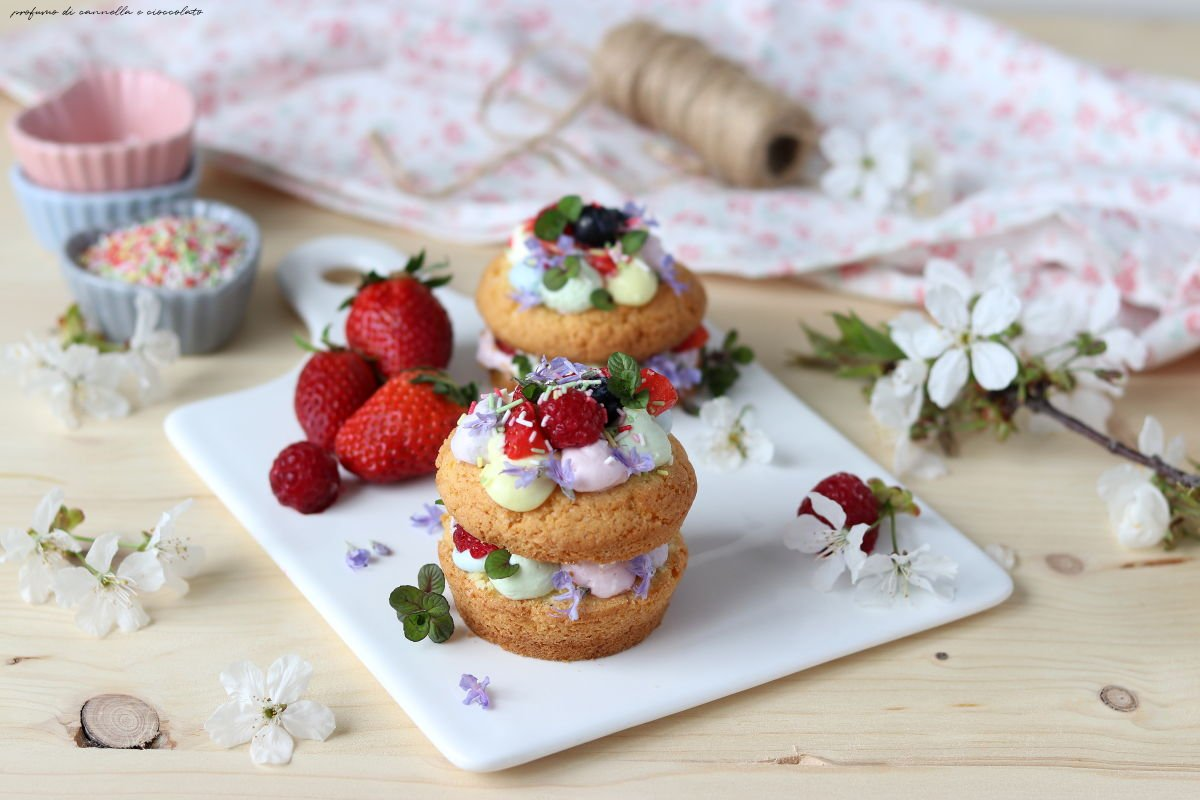 Mini cream tart