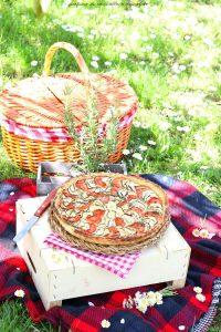 Sfogliata zucchine e pomodori