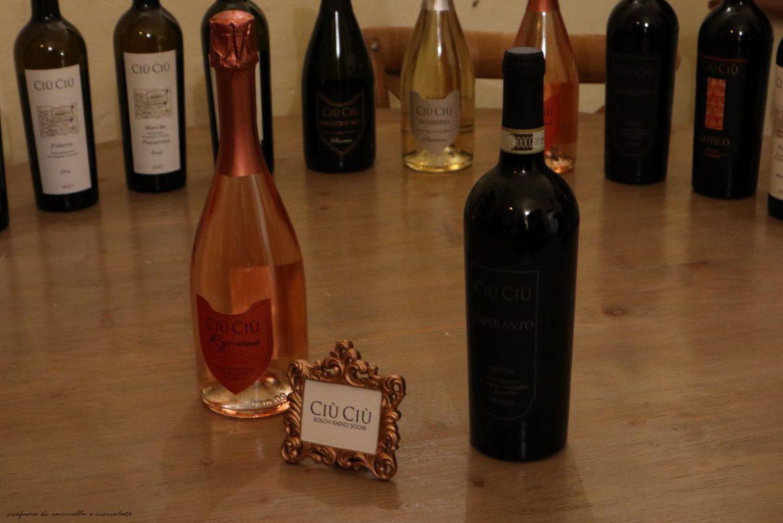Viaggio tra i sapori marchigiani e i vini Ciù Ciù