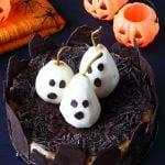 Cheesecake alla cannella con pere fantasmino