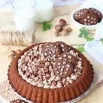 Crostata morbida pan di stelle e cioccolato