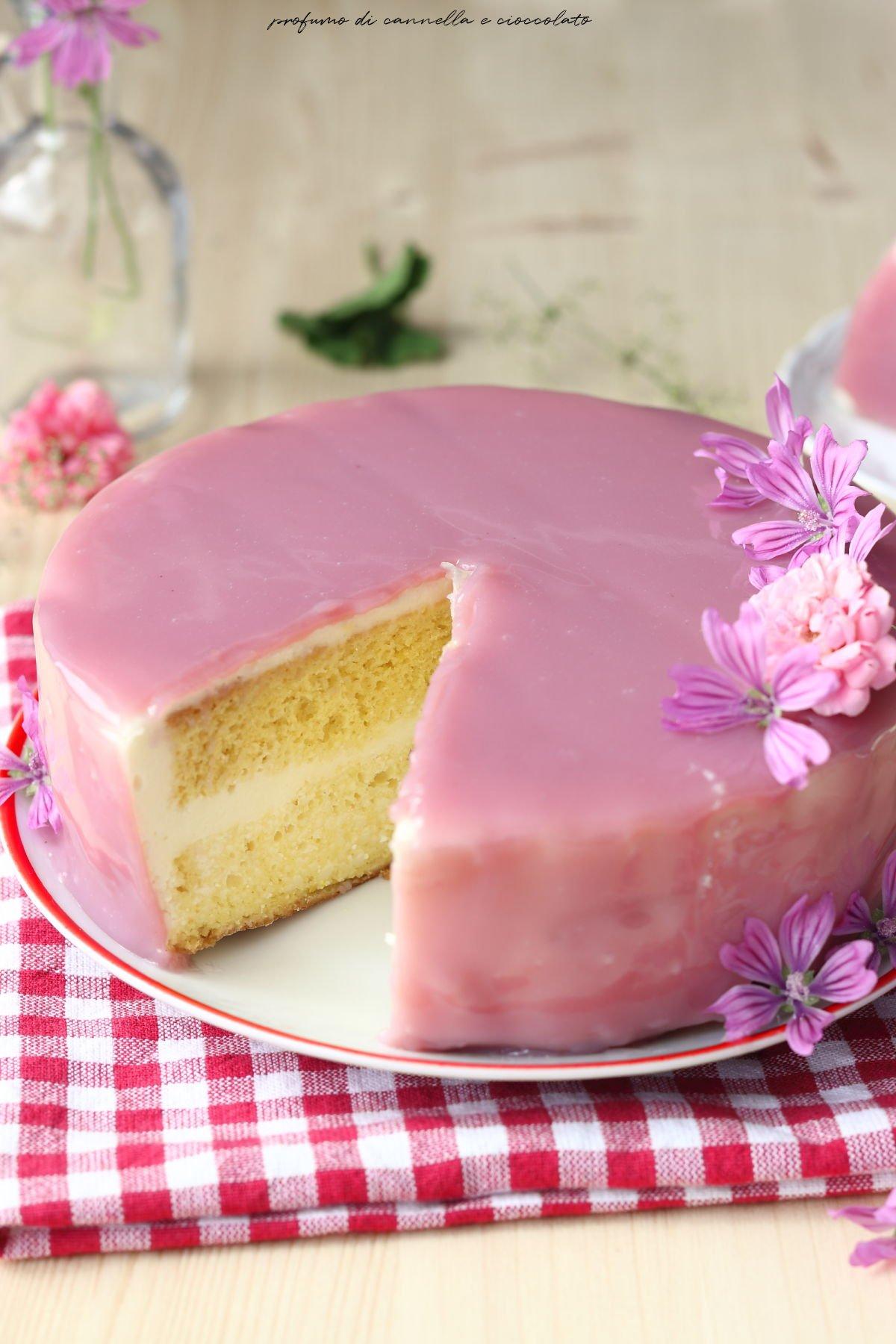 Mirror cake