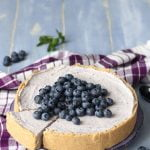 Torta allo yogurt e mirtilli