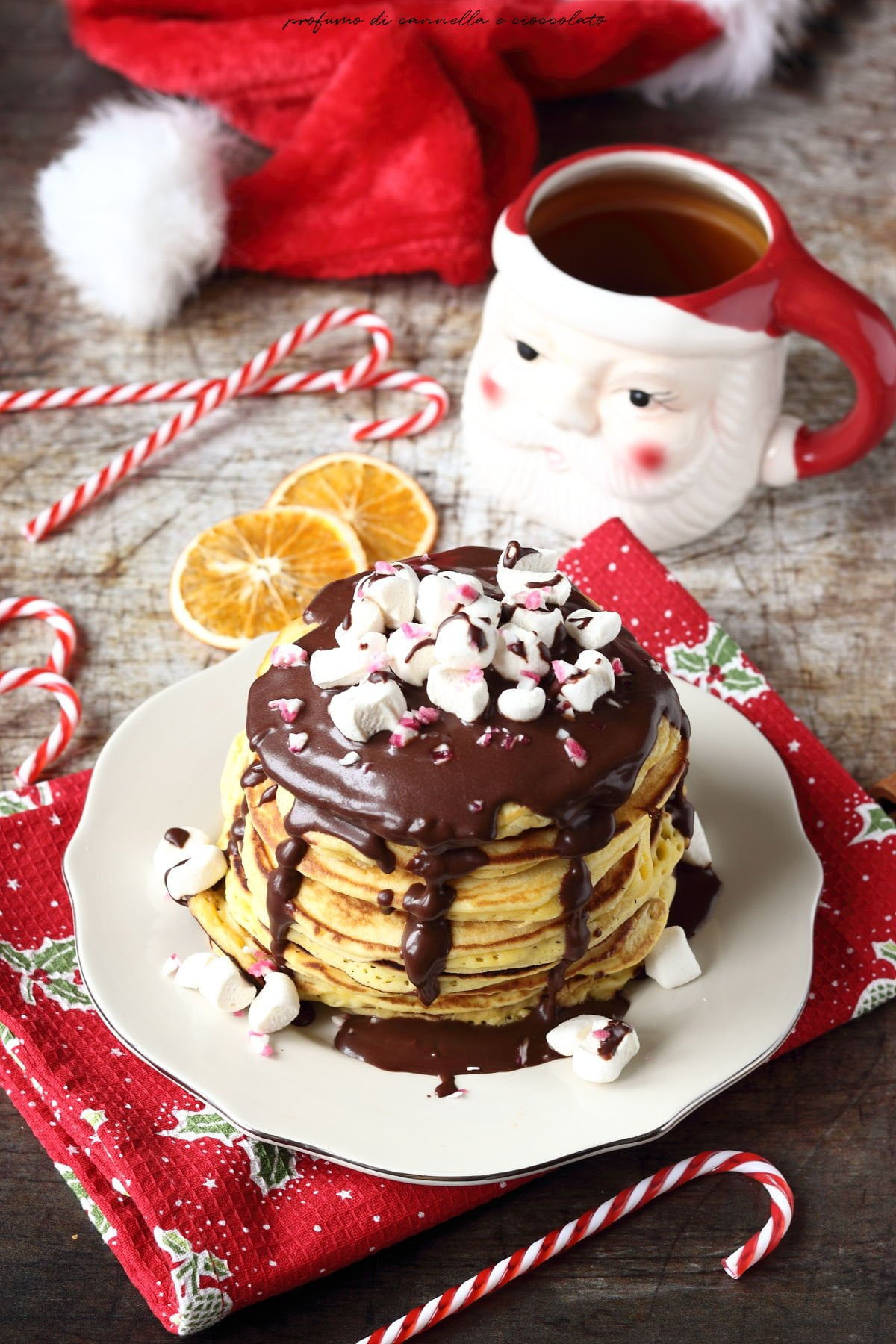 Pancakes natalizi