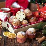 Muffin cranberry e gocce di cioccolato