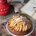 Torta di mele alla vaniglia soffice