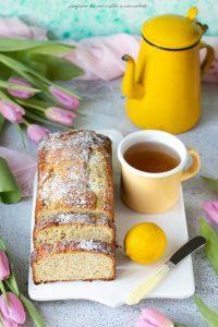 Plumcake limone e semi di papavero