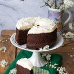 Torta guinness al cioccolato