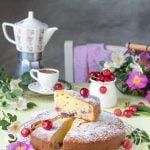 Torta ciliegie e mascarpone