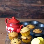 Muffin alla zucca con gocce di cioccolato