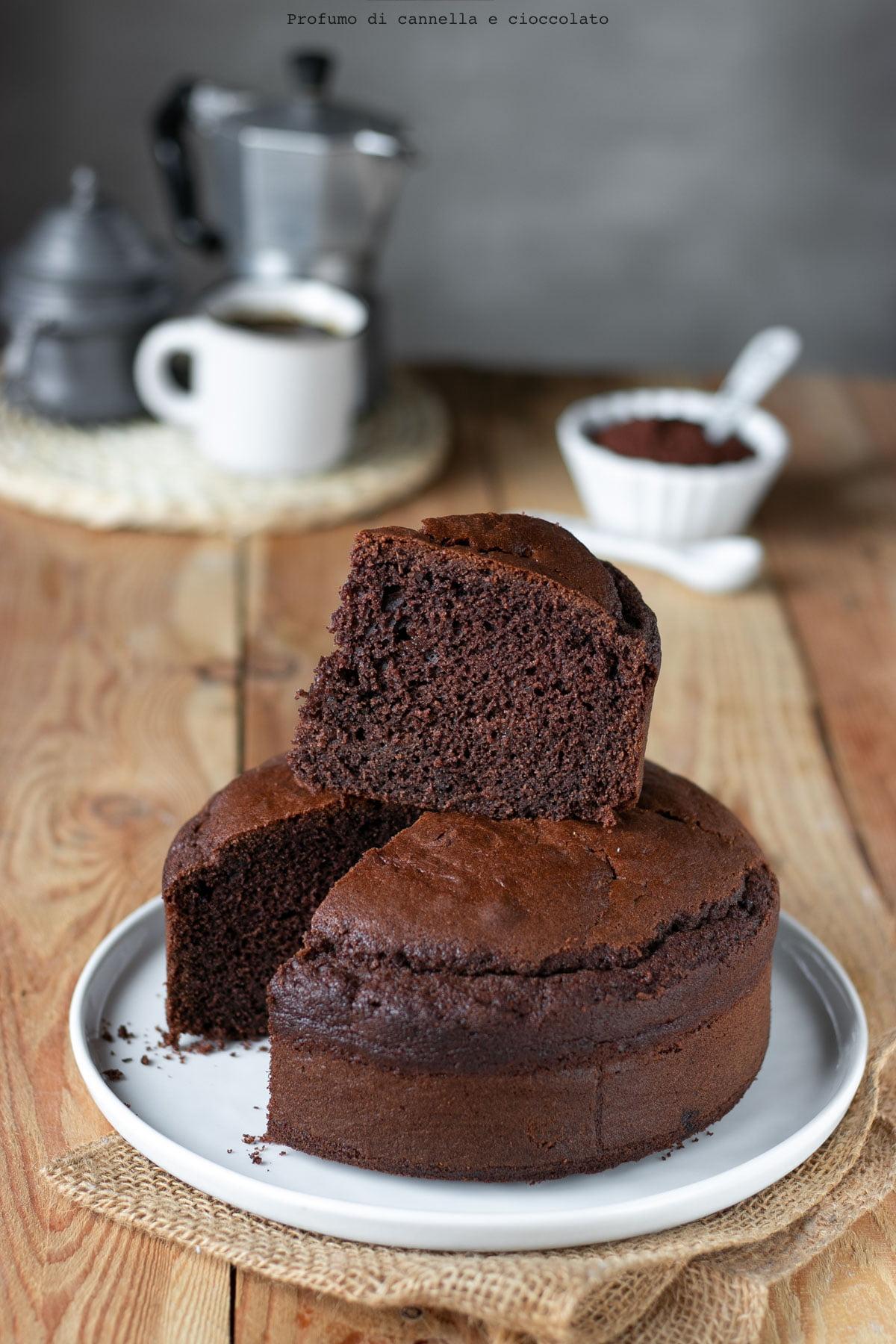 Ricette Torta Al Cioccolato Veloce.Torta Al Cacao Profumo Di Cannella E Cioccolato