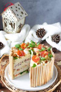 Torta di tramezzini: Sandwich cake