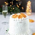 Torta panettone cocco e arancia