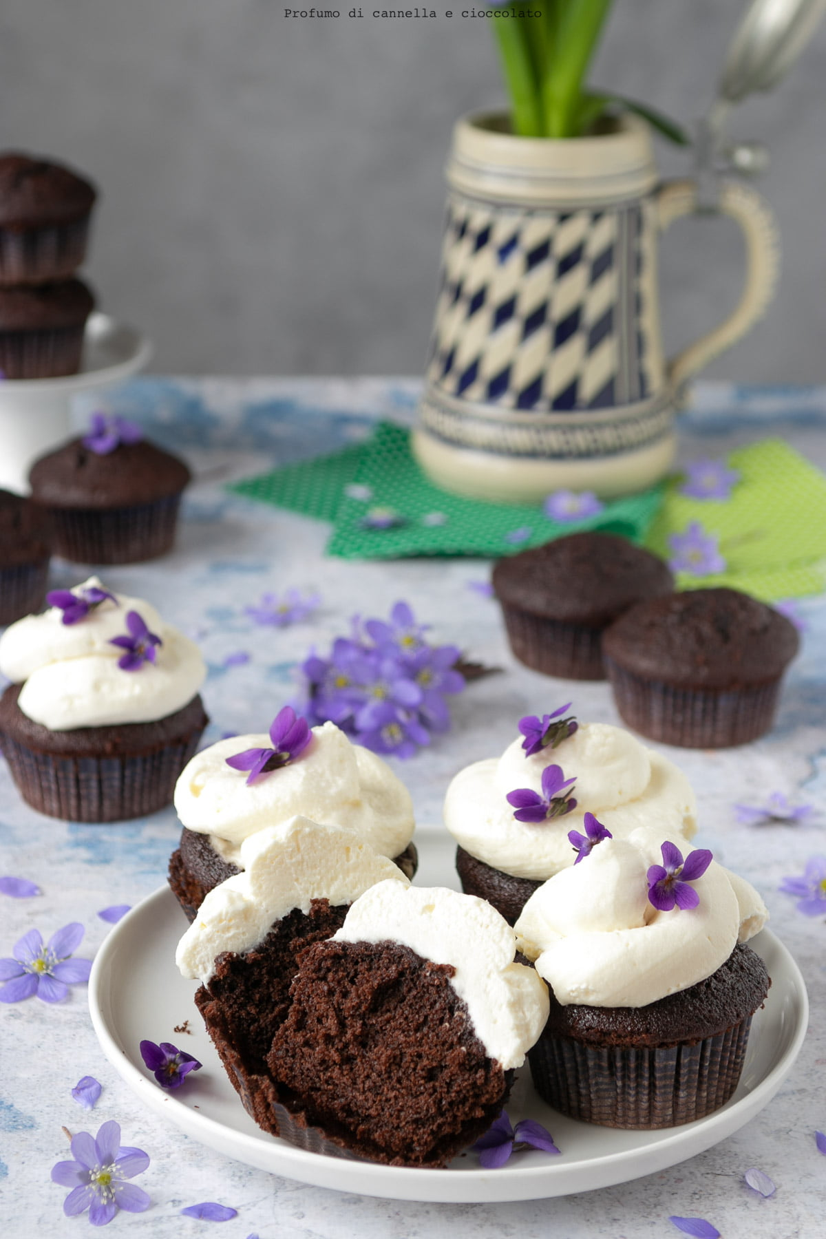 Cupcake alla guinness