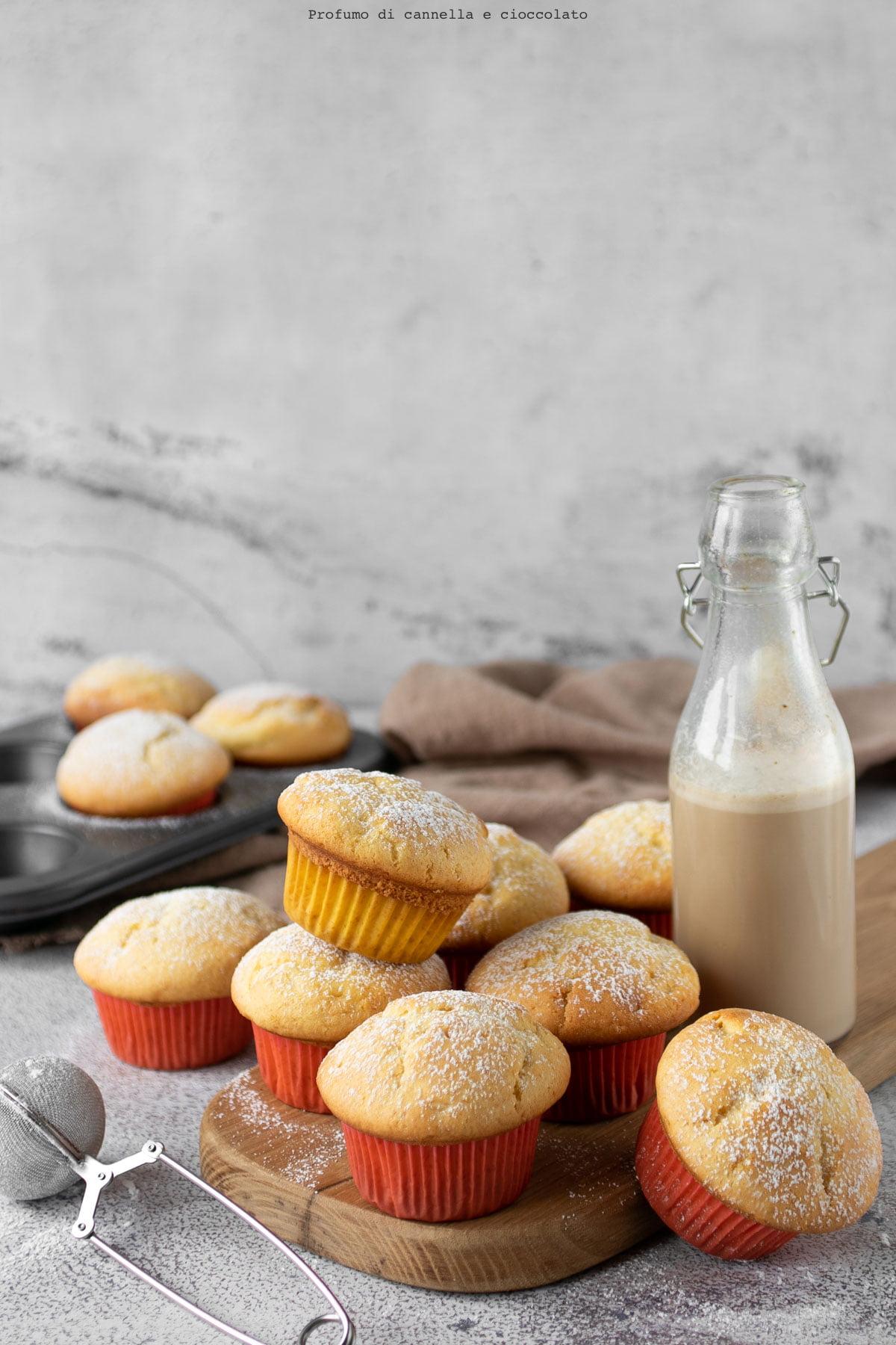 Muffin: ricetta base per muffin e cupcake