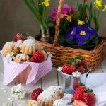 Tortine alle fragole e cioccolato
