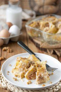 Crespelle patate formaggio e prosciutto
