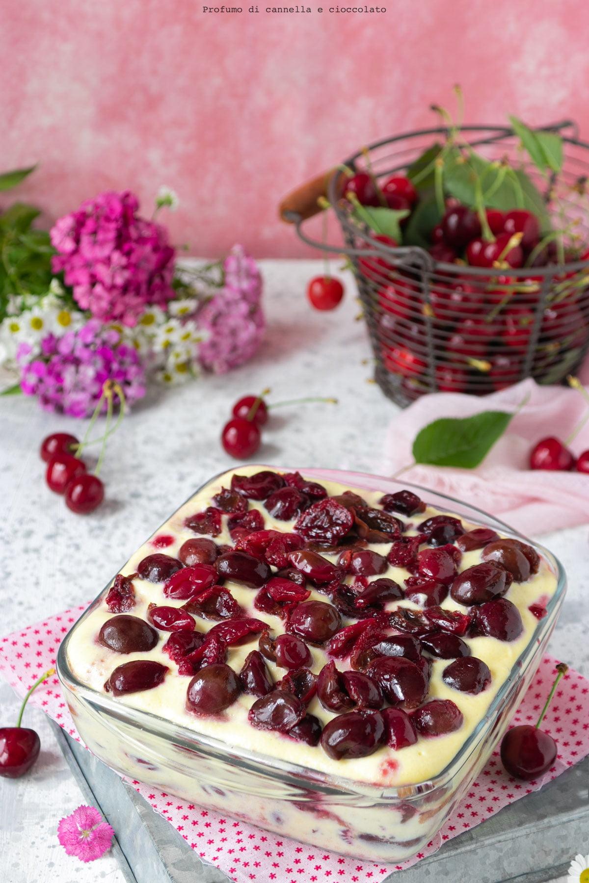 Tiramisu alle ciliegie