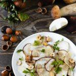 Carpaccio di funghi porcini