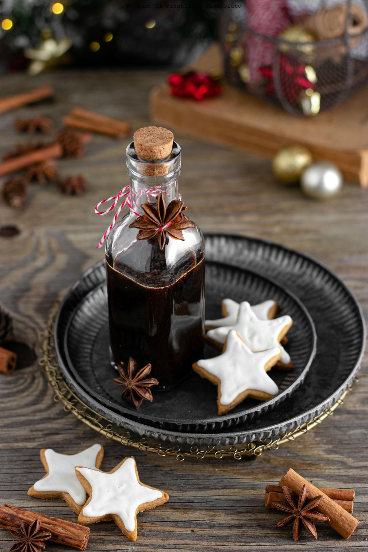 Sciroppo gingerbread
