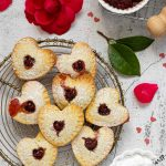 Mini crostatine a cuore