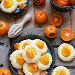 Biscotti con crema al mandarino