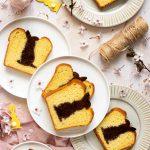 Plumcake di pasqua vaniglia e cacao