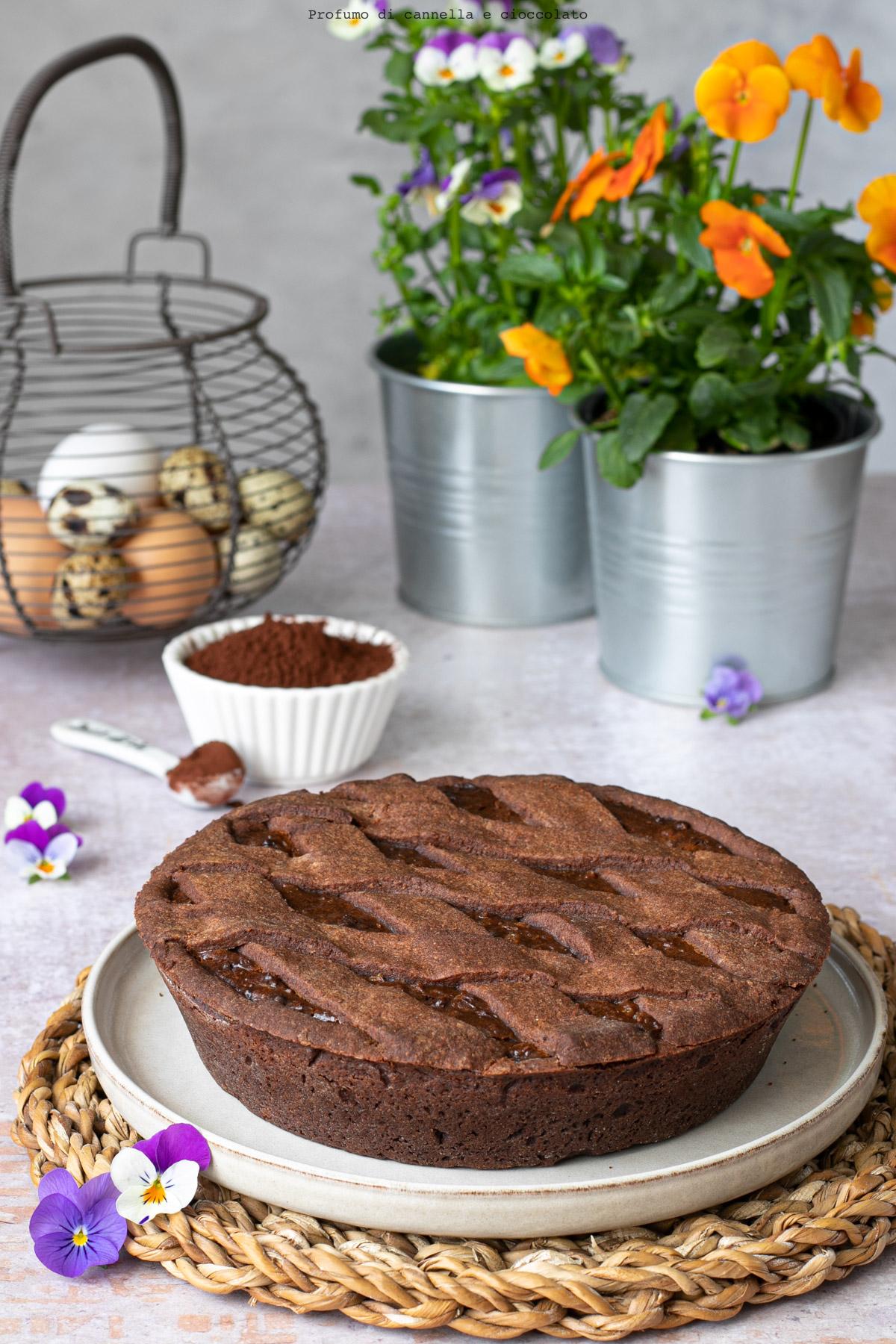 Pastiera al cioccolato