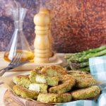 Crocchette di asparagi ceci e patate